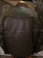 アンティーク キャンバス ジャケット-写真2