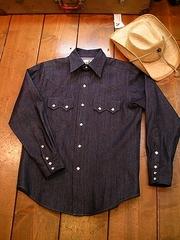 10oz Denim Western Shirt
