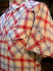 Rame Check Shirt-写真3