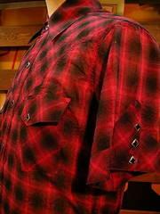 Shadow Plaid Shirt-写真5
