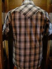 Gray Check Shirt-写真2