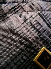 Gray Check Shirt-写真4