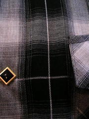 Gray Check Shirt-写真4