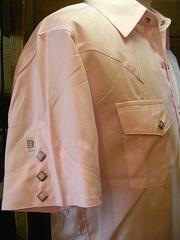 Pink Herringbone-写真2