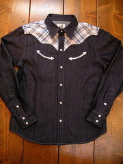 Check/Denim Shirt