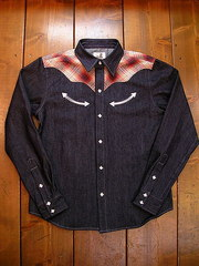 Check/Denim Shirt