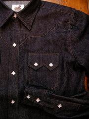 Denim WesternShirt-写真3